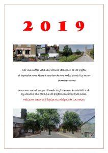 Vœux 2019 de la municipalité de Laurenan