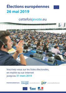 Elections Européennes : dimanche 26 mai 2019