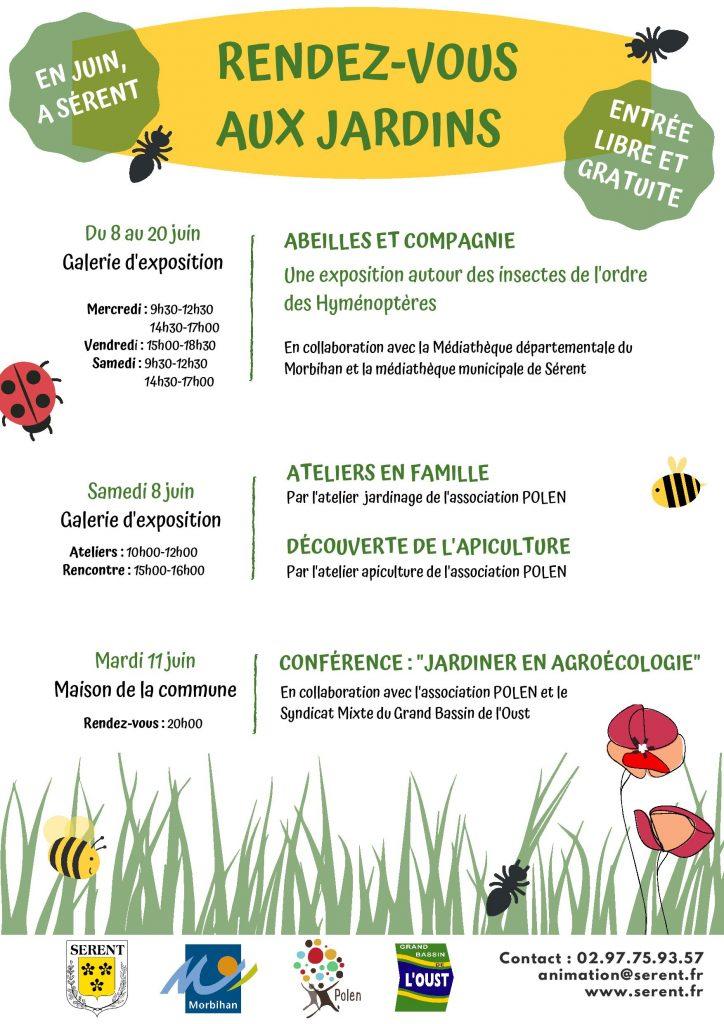 Les «rendez-vous aux jardins» à Sérent du 8 au 20 juin 2019