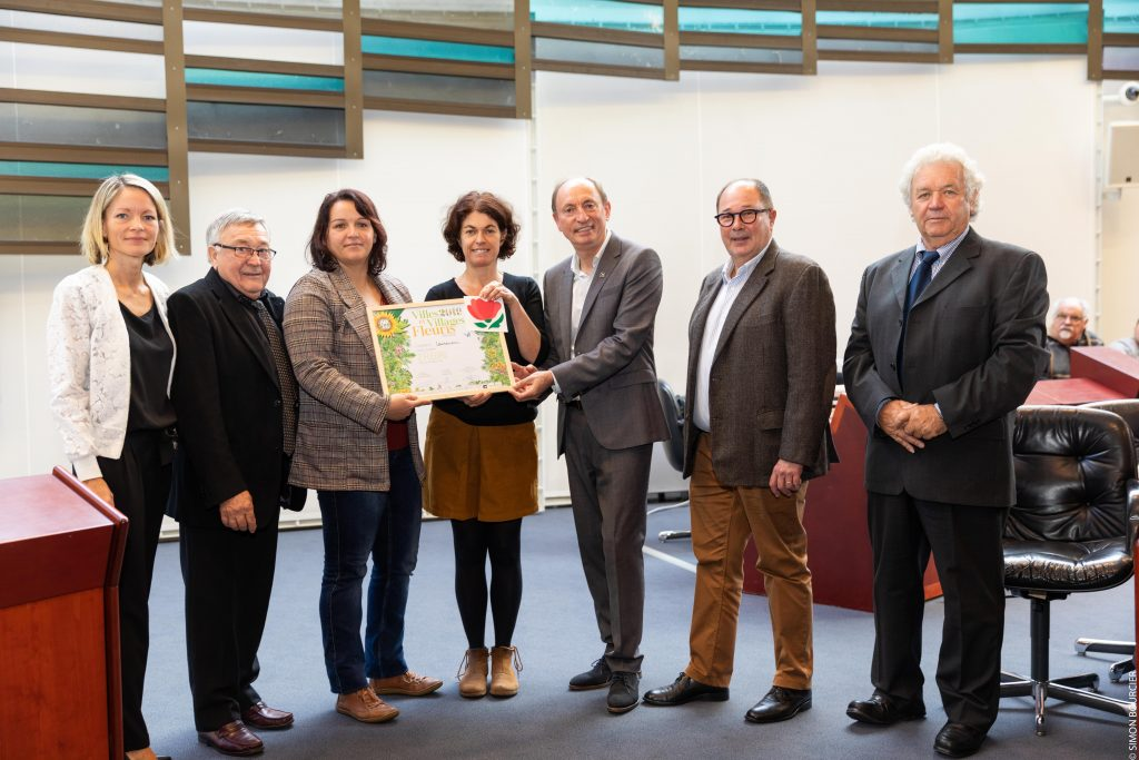 Villes et villages fleuris  palmarès 2019 : label 2 fleurs