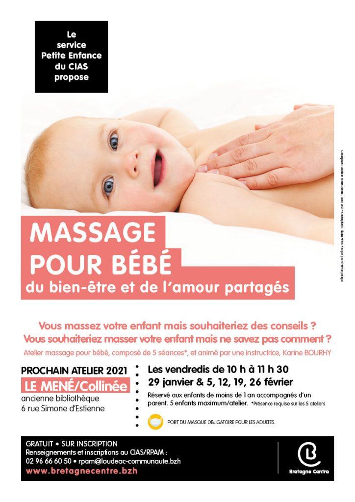 Atelier massage pour bébé : du bien-être et de l'amour partagés