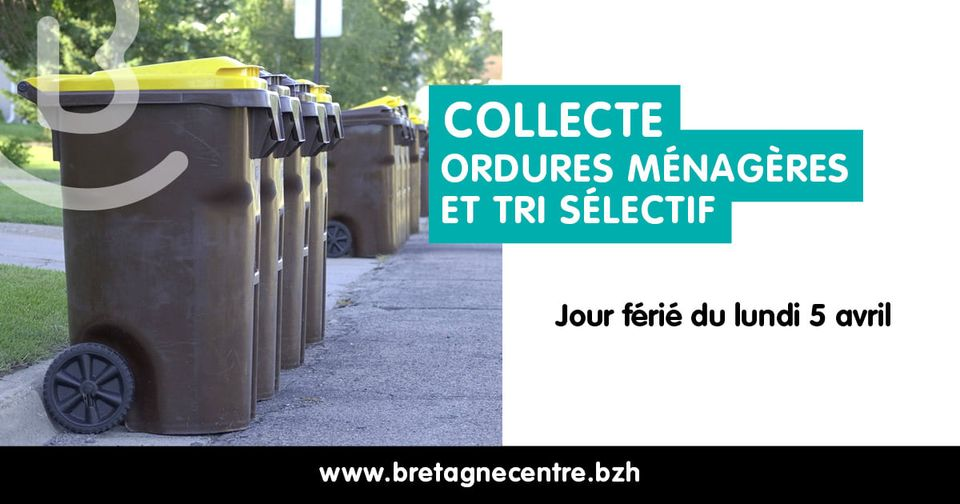 Collecte ordures ménagères et tri sélectif : changement semaine 14