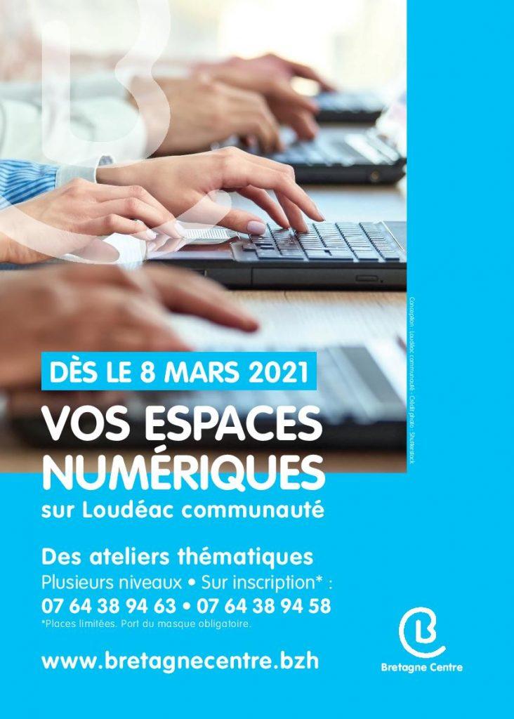 Programme numérique : mars et avril 2021