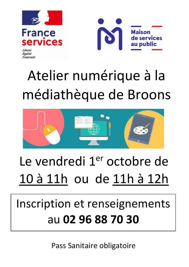 2 ateliers numériques à Caulnes et Broons